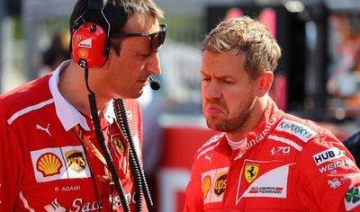 Vettel, resignado, piensa que el Mundial es de Hamilton