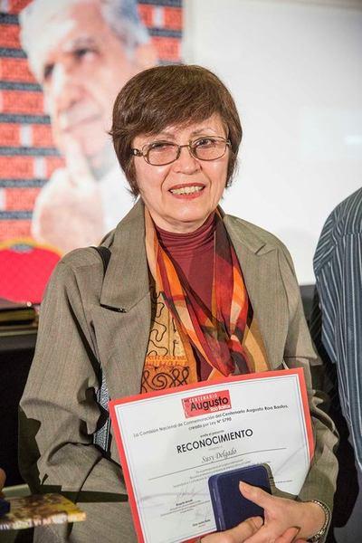 SNC celebra el galardón a Susy Delgado: creadora que cultiva la escritura bilingüe
