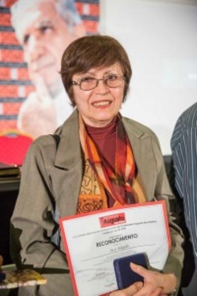 Susy Delgado recibe el Premio Nacional de Literatura 2017