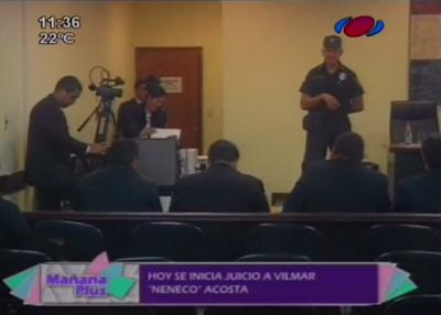 """Abogados piden nulidad del proceso y absolución """"Neneco"""" Acosta"""