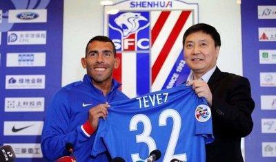Carlos Tévez, el gran fracaso de la temporada en la Superliga china