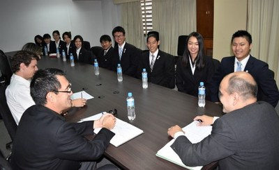 Voluntarios de la JICA informaron sobre trabajos realizados en el país