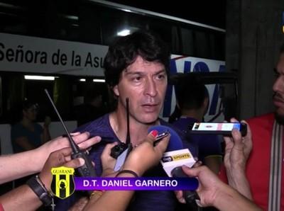 Daniel Garnero, técnico de Guaraní