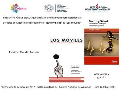Presentarán dos libros del investigador argentino Claudio Pansera