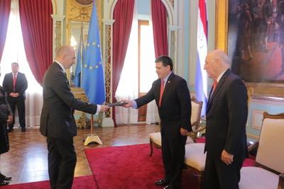 Nuevo embajador ratifica apoyo de la UE a prioridades de desarrollo del Paraguay