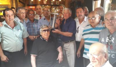 Olimpia 79: el festejo de los campeones del mundo
