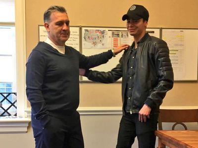 Miggy habló del fuerte vínculo con Tata Martino