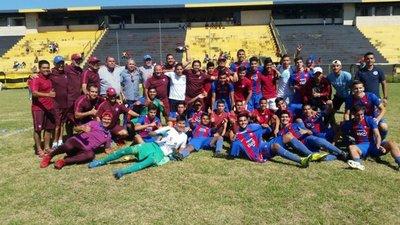 Sub 16: Cerro campeón