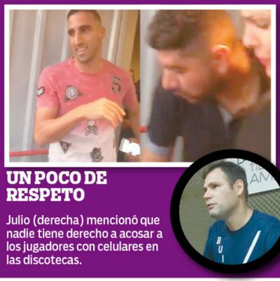 """""""El futbolista tiene derecho a salir y divertirse"""""""