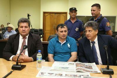 Vilmar Neneco Acosta, culpable