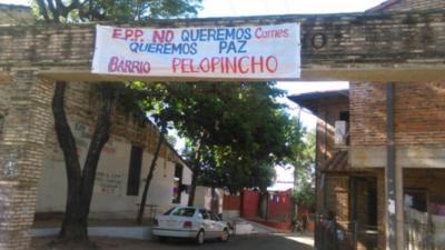 No al chantaje del EPP: En Pelopincho anuncian rechazo de víveres