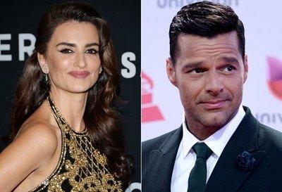 Penélope Cruz y Ricky Martin presentarán Globos de Oro