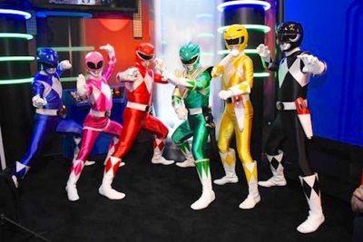 Los Power Rangers van a comer hule este 2018