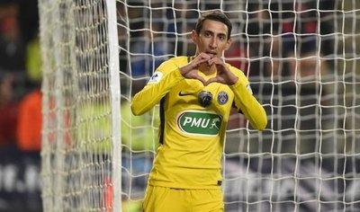 El París Saint Germain se da un festín y golea en Rennes