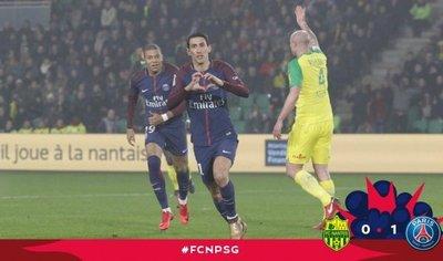 El PSG, sin Neymar, sale airoso de Nantes