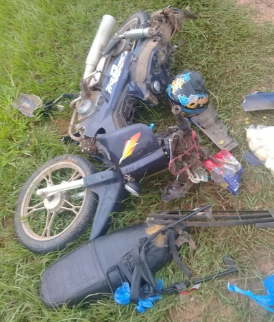 Motociclista de 77 años muere en accidente de tránsito