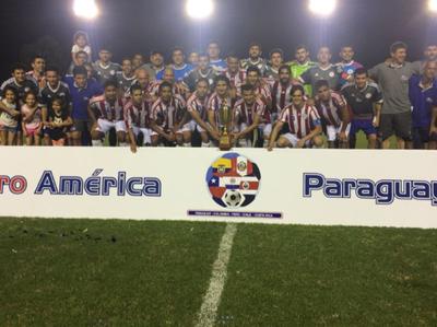 Paraguay doblegó a la Selección Guaraní y levantó el título del América FIFPro 2018