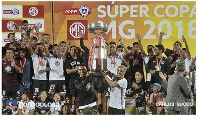 Colo Colo, campeón de una nueva edición de la Supercopa de Chile