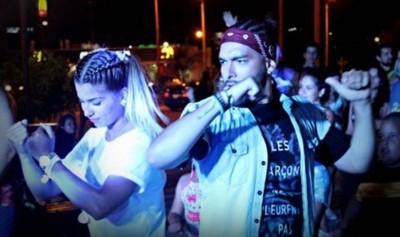 Karlinho grabó vídeo clip con los encarnacenos