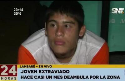 Lambaré: Menor se encuentra en estado de abandono