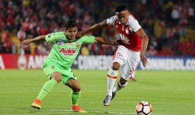 Santa Fe elimina al Táchira y jugará fase 3 con Santiago Wanderers