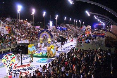 Emoción, alegría y ritmo se vivieron en las noches del Carnaval Encarnaceno