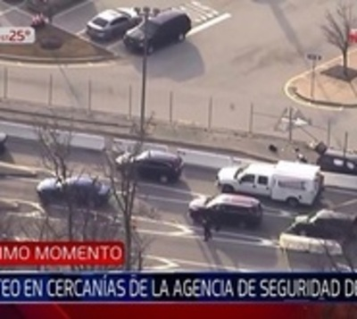 Heridos tras tiroteo en cercanías de la Agencia de Seguridad de EE.UU.