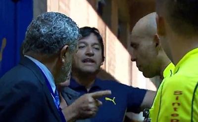 Árbitros se pronuncian luego de incidente con titular de Luqueño