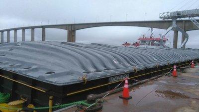 Un millón de toneladas de soja desde Brasil hasta Concepción
