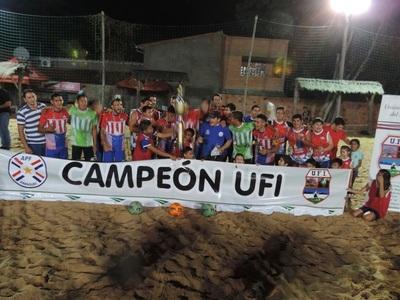 San Bernardino es campeón del Interligas Playa
