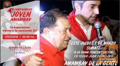Marito hará su primera visita como candidato a Presidente por la ANR