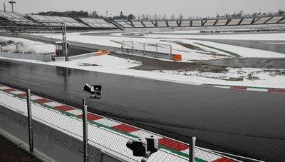 La F1 se queda congelada en Montmeló