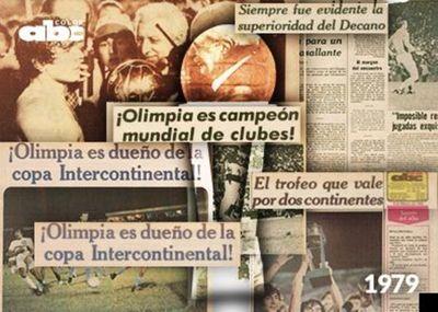 Olimpia, campeón del Mundo