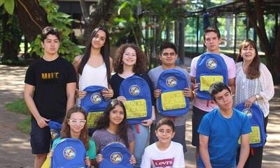 Estudiantes paraguayos competirán en Londres