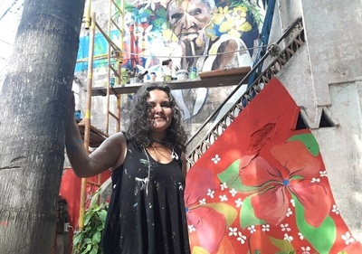 Artista portorriqueña propone arte y tradición en Asunción por Semana Santa