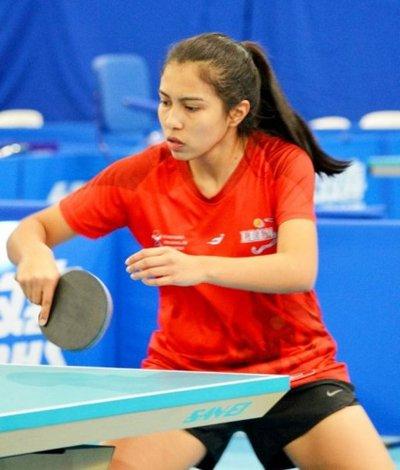 Leyla Gómez, tres veces medallista en el Sudamericano