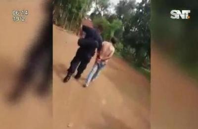 Sujeto fue detenido por vecinos en el este del país