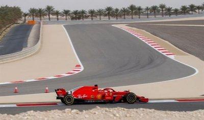 Bahréin: Kimi Raikkonen vuela en segunda prueba