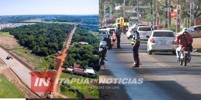 MILLONARIA INVERSIÓN PARA ACCESOS EN ENCARNACIÓN.