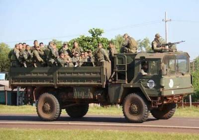 Sigue el operativo en el norte con un intenso movimiento de militares