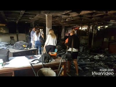 Caso incendio y hurto de la Municipalidad: Fiscales se reunieron con el intendente.