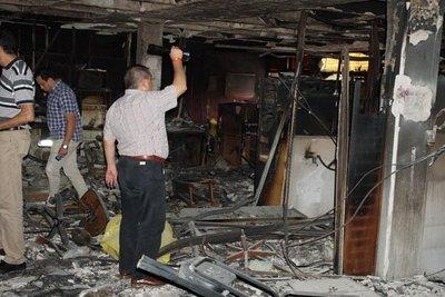 Fiscales se reunieron con Yd por quema y robo de la comuna