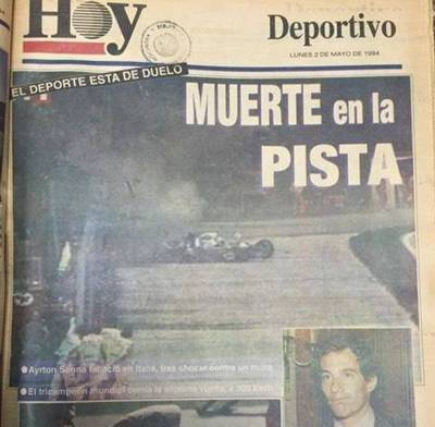A 24 años de la trágica partida de Senna