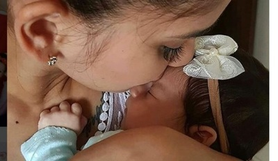 Mariela Bogado Celebró El Primer Mes Del Nacimiento De Su Hija