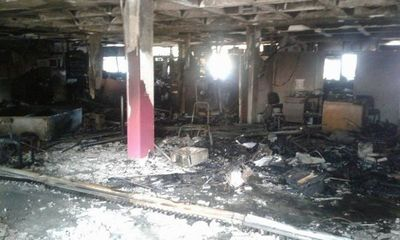 Designan fiscal adjunto provisorio para investigar quema