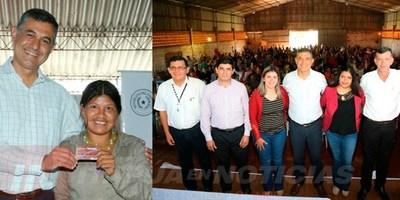 GOBIERNO INCLUYE A 285 FAMILIAS DE CAPITÁN MEZA EN PAGO ELECTRÓNICO DEL PROGRAMA TEKOPORÃ