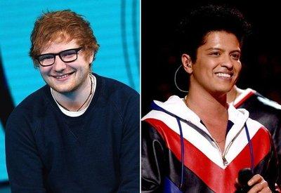 Bruno Mars y Ed Sheeran, los más escuchados en Paraguay