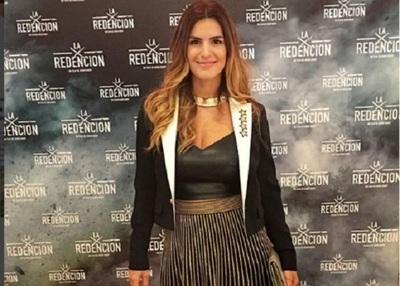 """Amparo Velazquez Emocionada Ante El Estreno De La Película Paraguaya """"La Redención"""""""