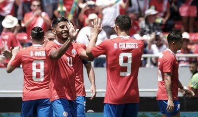 Costa Rica se despide con goleada ante Irlanda del Norte