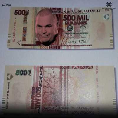 "Chila y Ña Tora ""valen"" g. 500.000"